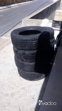 Motorbike Parts & Accessories in Beirut City - 4 tires for sale 245/65/17 450 alf