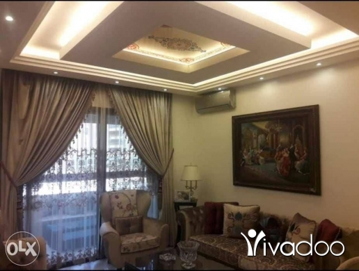 Apartments in Beirut City - شقة فخمة مفروش للإيجار خمس غرف
