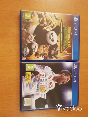 Video Games & Consoles in Derb el-Simme - fifa 18 and kungfu panda