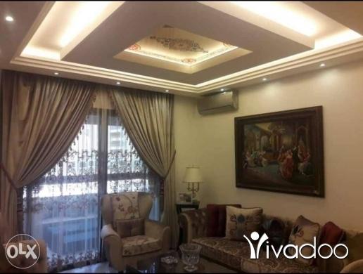 Apartments in Beirut City - شقة فخمة مفروش للإيجار او للبيع خمس غرف