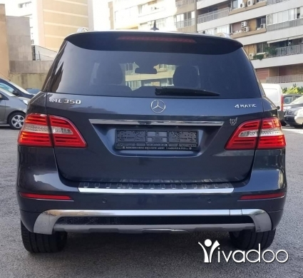 Mercedes-Benz in Beirut City - Mercedes ML-350 Model 2013 Full option مصدر الشركه صيانه كامله رائع جدا دون حوادث