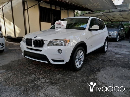 BMW in Beirut City - X3 white/Red 2013 28i XDRIVE 4cyl T