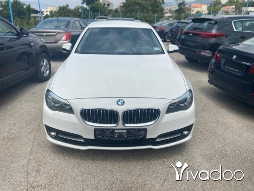 BMW in Beirut City - BMW 520IModel: 2016White/BlackABS, Air Conditioning, Airbags, Alarm/Anti-Theft System, AM/FM Radio, Aux Audio In, Bluetooth System, Cruise Control, EBD, Fog Lights, Keyless Start, Leather Seats, Navigation System, , Parking Sensors, Power Locks, Power Mir