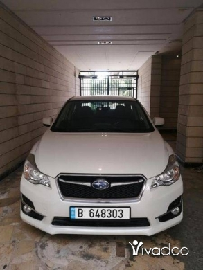 Subaru in Beirut City - Subaru