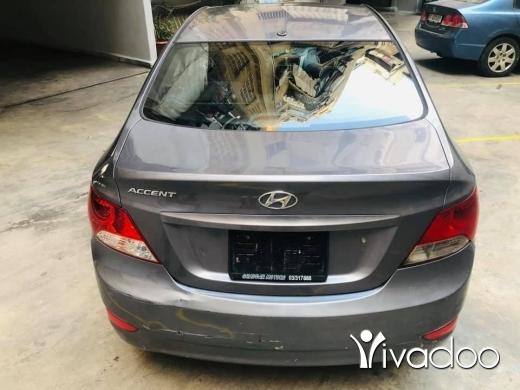 Hyundai in Beirut City - HYUNDAI ACCSENT 2015