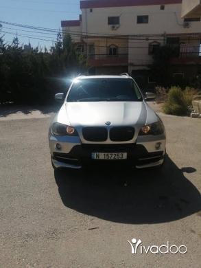 BMW in Beirut City - X5 E70 2008 6 clndr بويت شركي شاشه كبيره كميرا وراه حساسات ادم ورا رقم:71899207 سقف penramick