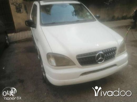 Mercedes-Benz in Tripoli - Mercedes ML 2000