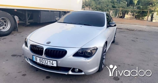 BMW in Tripoli - Bmw 630 V6