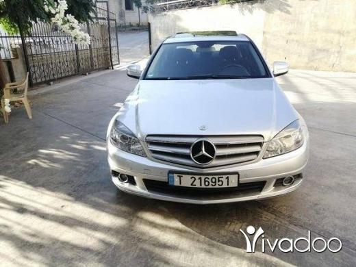 Mercedes-Benz in Tripoli - c230  6 cylender model 2009