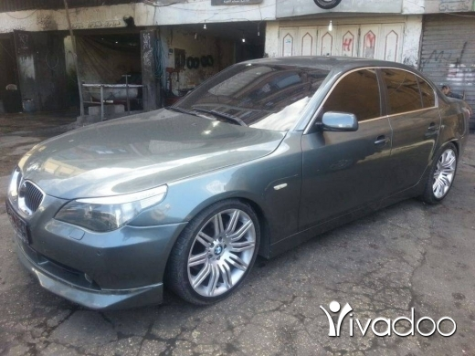 BMW in Tripoli - e60 model 2006 look m tchnik