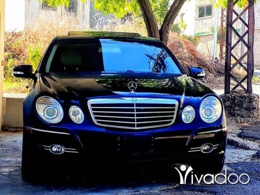 Mercedes-Benz in Akkar el-Atika - 2008 // E350