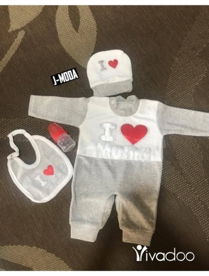 Clothes, Footwear & Accessories in Beirut City -  New Baby Born 4pieces SET