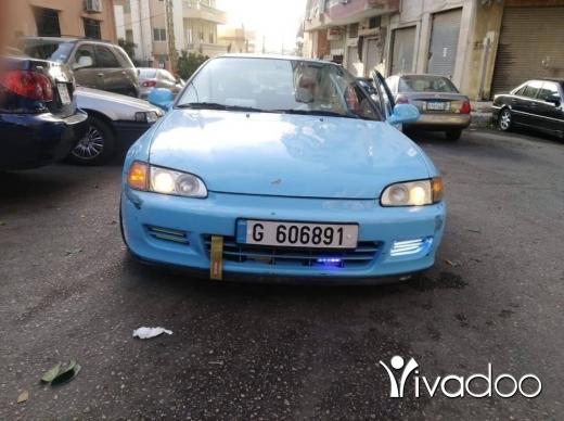 Honda in Tripoli - Honda civikk 14 malyoun model 1993