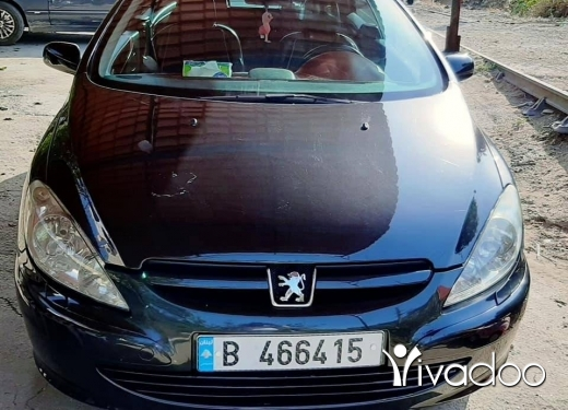 Peugeot in Beirut City - peugeot 307cc 2004
