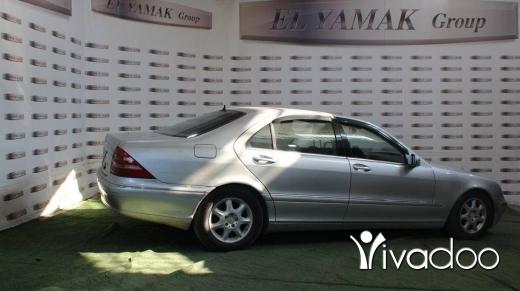 Mercedes-Benz in Tripoli - Mercedes S500 year 2001