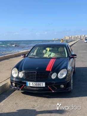 Mercedes-Benz in Minieh - W211 2003 look 2009 AMG