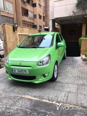 Mitsubishi in Beirut City - Mitsubishi mirage 2014