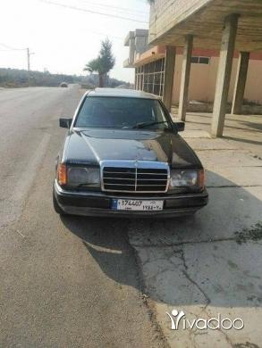 Mercedes-Benz in Tripoli - مرسيدس ٣٠٠ مازوت