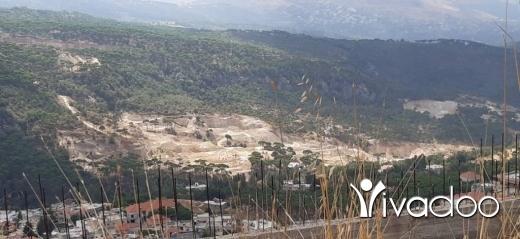 Land in Ain Dara - ارض للبيع عين داره منطقة عالية 23000م