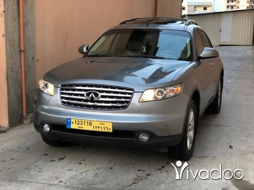 Infiniti in Tripoli - 2005 full option depoyet lbi2a