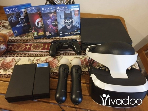 Video Games & Consoles in Saadnayel - Ps4 slim.500gb +vr