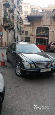 Mercedes-Benz in Tripoli - مرسيدس 320 موديل 2003