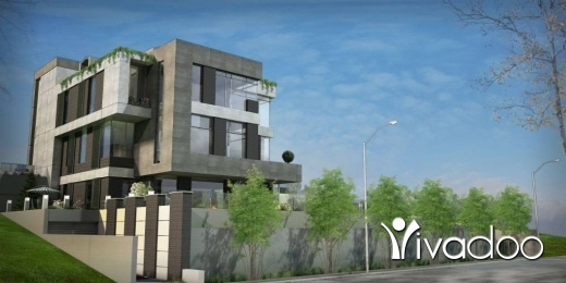Villas in Sehayleh - A  six story 5000 m2 villa on a 2000 m2 land with a garden and pool overlooking the sea for sale