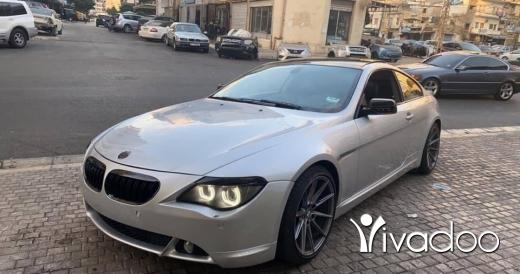 BMW in Tripoli - Bmw 630 v6