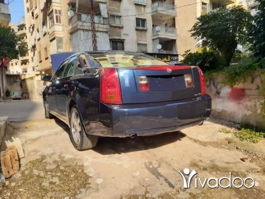 Cadillac in Majd Laya - cadillac ts modell 2005 syara mafya hawedes dwelib jded moter vitess top boya jdide ma fya a3tall