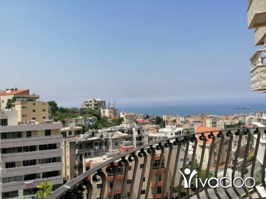 Duplex in Amchit - L07075- Duplex for Sale in Jbeil Core  shell With Panoramic sea view
