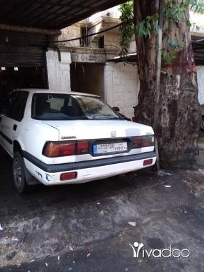 Honda in Tripoli - Honda accord موديل 88