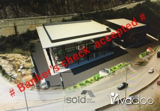 Land in Roumieh - A 4,400 m2 commercial land for sale on Maten Express Highway
