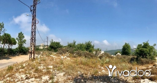 Land in Ras Osta - A 920 m2 land having an open mountain/sea view for sale in Ras Osta