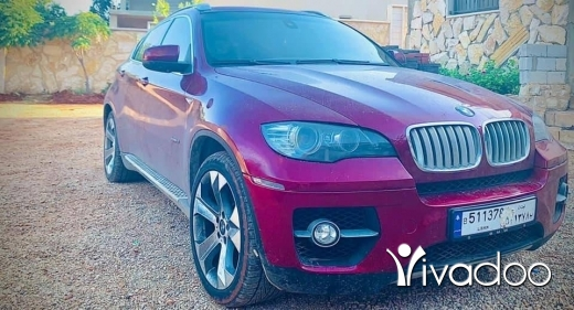 BMW in Beirut City - For sale X6 2008 خارق