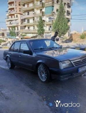 Opel in Tripoli - اوبل اسكونا موديل ٨٨