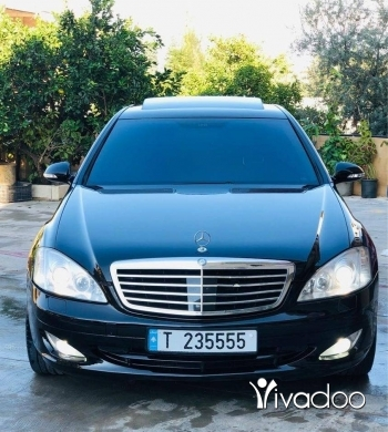 Mercedes-Benz in Akkar el-Atika - S500 2007 black/balck