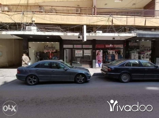 Apartments in Tripoli - محل للبيع، مؤجَر حالياً ، في طرابلس شارع المطران