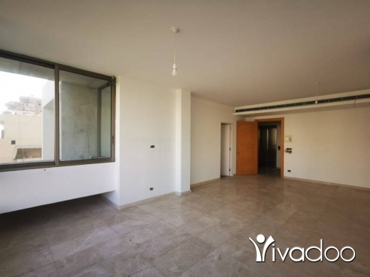 Apartments in Achrafieh - A 166 m2 apartment with an open sea view for sale in Achrafieh