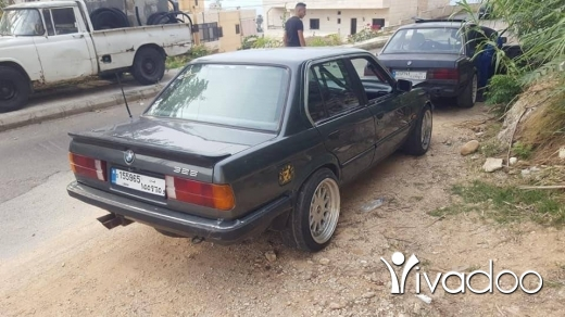 BMW in Beirut City - E30 model 1986