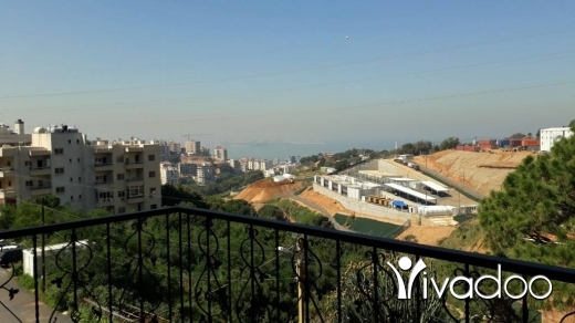 Apartments in Awkar - L01994- Spacious Apartment For Sale In Aoukar Belle Vue With Sea View