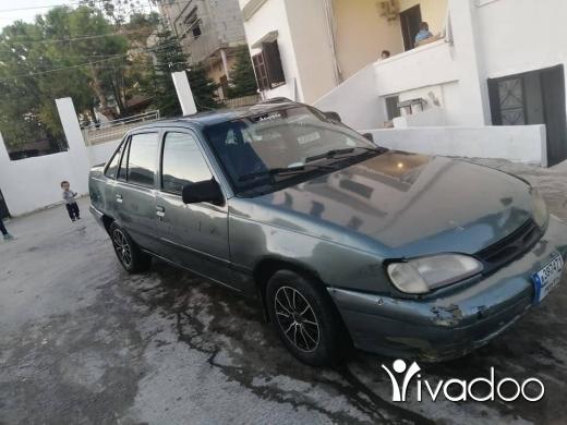 Daewoo in Tripoli - daewoo racer model 1996