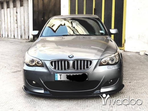 BMW in Tripoli - E60 / 2004 look m5 2010