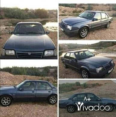 Opel in Tripoli - اوبل اسكونا موديل 88