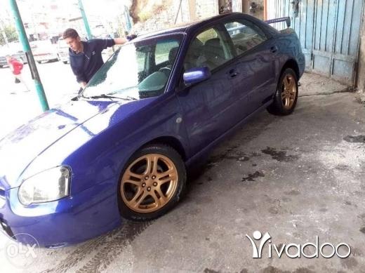 Subaru in Akkar el-Atika - Subaru impreza model 2004