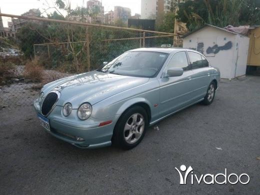Jaguar in Beirut City - Jaguar S type