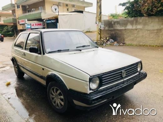 Volkswagen in Minieh - غولف ٨٨