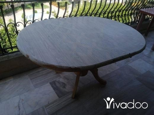 Home & Garden in Aktanit - طاولة كبيرة قوية