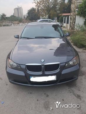 BMW in Tripoli - E90 325 (2006) 4 Bi2a Mawjoudin : 81200104 السعر قابل للتفاوض