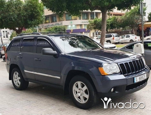 Jeep in Beirut City - Grand cherokee V6