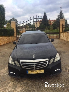 Mercedes-Benz in Beirut City - E350 Model 2011